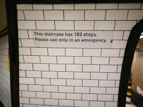 It has 102 steps only