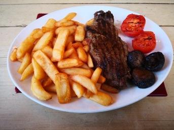 Rump Steak ... very plain.