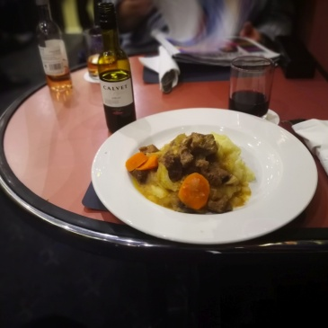 Poo on mash potato aka beef bourguignon