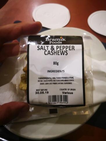 maltodextrin cashews
