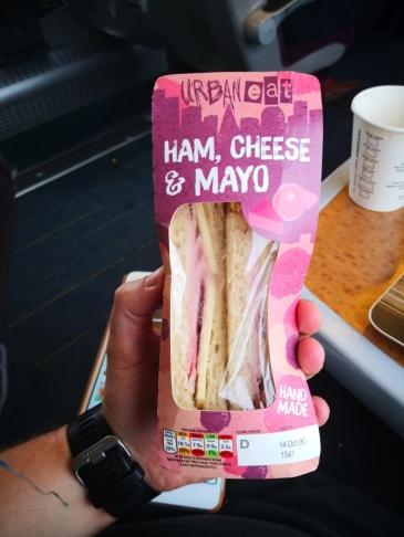 Ham, Cheese and mayo