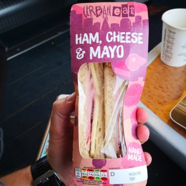 Ham, Cheese and mayo