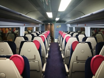 standard class in GWR. I heard GWR trains are the most overcrowded train on the network.