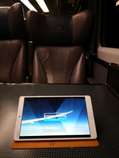 Watching Dennis Bunnik Travels to see how smooth First/Business class travel looks like :)
