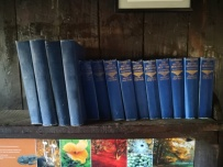 the only thing to read in boathouse is ... encyclopedia britanica .
